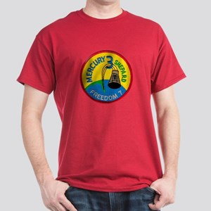 Freedom 7 Alan Shepherd Dark T-Shirt