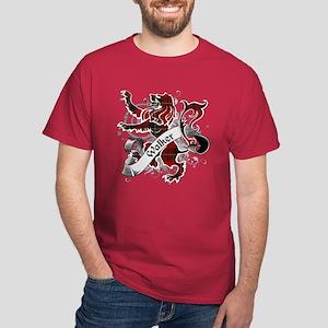 Walker Tartan Lion Dark T-Shirt