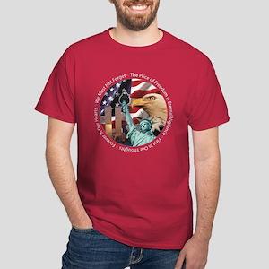 9 11 We Remember Dark T-Shirt