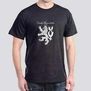 Double tailed lion black T-Shirt