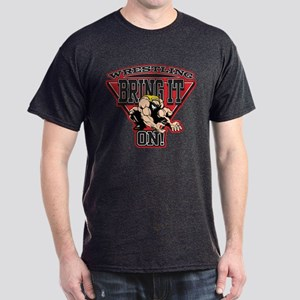 Wrestling Bring It On Dark T-Shirt