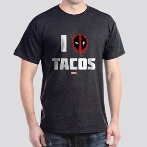 Deadpool Tacos Dark T-Shirt