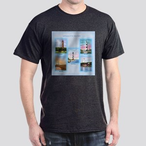 Lighthouses of the Outer Banks Dark T-Shirt