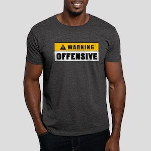 00f36dbc Warning Offensive Lockout Dark T-Shirt