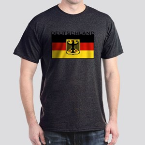 Deutschland Flag Dark T-Shirt