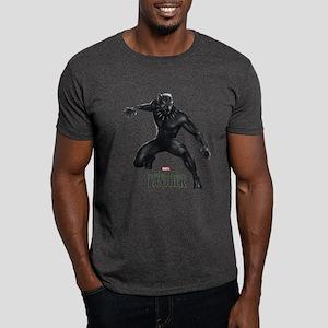 Black Panther Pose Dark T-Shirt