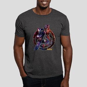 Avengers Infinity War Symbol Dark T-Shirt