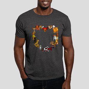 Dog Heart Dark T-Shirt