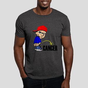 Piss On Cancer -- Cancer Awareness Dark T-Shirt
