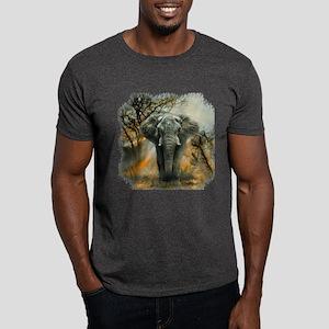 Elephant Sunrise Dark T-Shirt