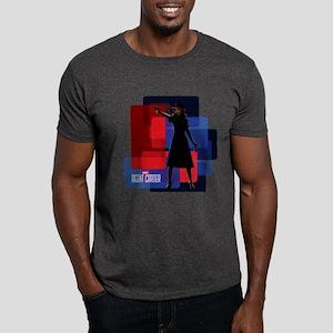 Agent Carter Squares Dark T-Shirt