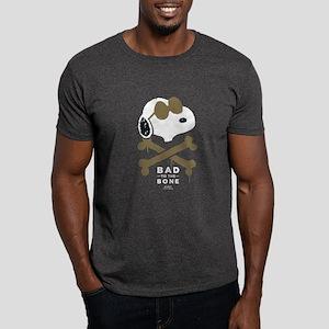 Peanuts Bad to the Bone Dark T-Shirt