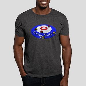 Curling Rocks! Dark T-Shirt