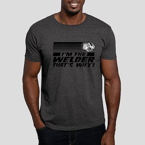 Funny Welder Dark T-Shirt