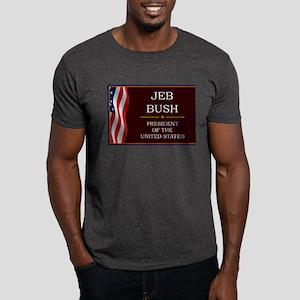 Jeb Bush President V3 Dark T-Shirt