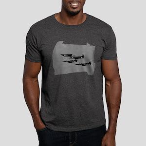 A4 Blue Angels 1 Up 3 Down Dark T-Shirt