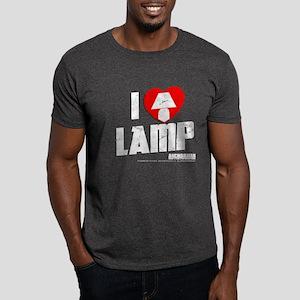 I Love Lamp Dark T-Shirt