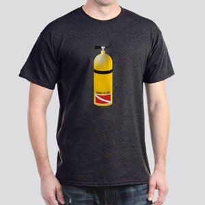Scuba is Life Dark T-Shirt