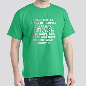 There are 11 kinds Dark T-Shirt