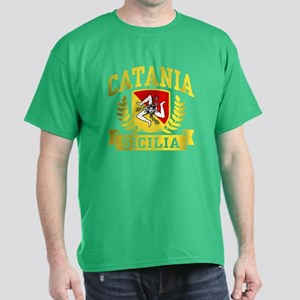 Catania Sicilia Dark T-Shirt