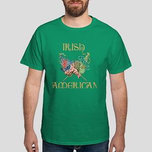Irish Shamrock Dark Men's T-Shirts - CafePress