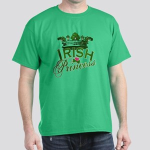 Irish Princess Tiara Dark T-Shirt