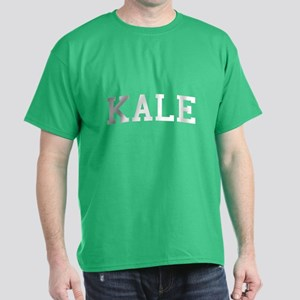 Kale University Funny Vegetarian Dark T-Shirt