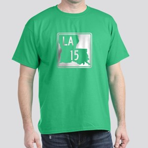Route 15, Louisiana Dark T-Shirt