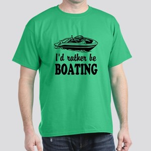 Id rather be boating T-Shirt