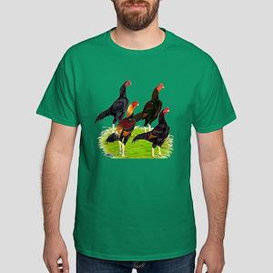 Oriental Gamefowl Dark T-Shirt