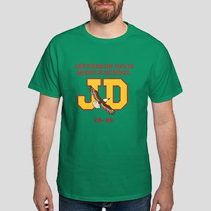 Jefferson Davis Middle Dark T-Shirt