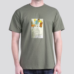 Dick and Jane Parody Dark T-Shirt