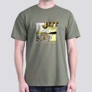 Jeff, God of Biscuits Dark T-Shirt