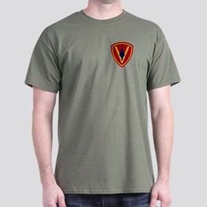 5th Marine Division T-Shirt (Dark)