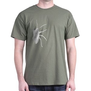 competitive price 3fe08 8846b Big White Stink Bug Dark T-Shirt