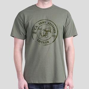 b187c6ef Army Aviation Vietnam Dark T-Shirt