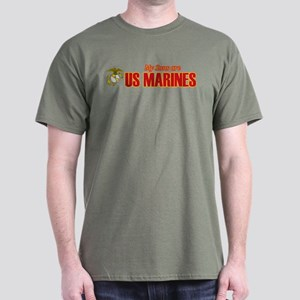 My Sons are Marines Dark T-Shirt