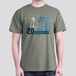 American Dad 20 Seconds Dark T-Shirt