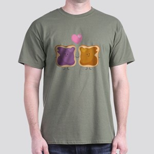5016db3c2 Peanut Butter And Jelly T-Shirts - CafePress