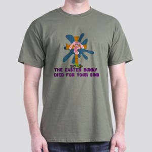 Atheist Easter Bunny Dark T-Shirt