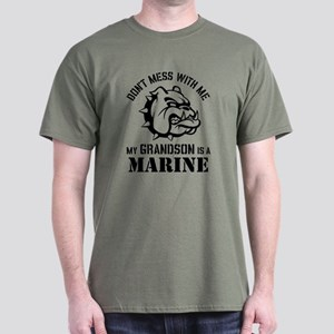 Marine Grandparent Dark T-Shirt