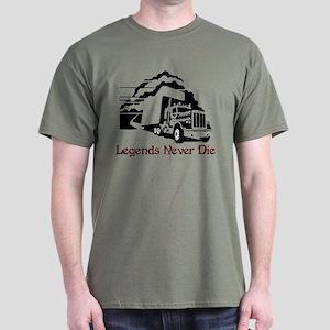 Legends Never Die Dark T-Shirt