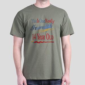 Incredible At 14 Dark T-Shirt