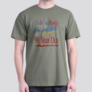 Incredible At 90 Dark T-Shirt