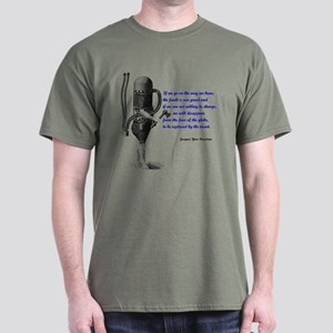 Cousteau Quote Dark T-Shirt