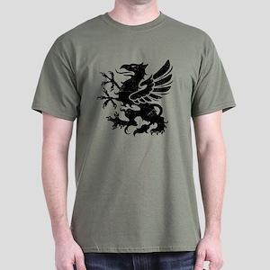 Black Gryphon Dark T-Shirt
