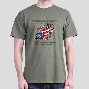 2 Chron. 7:14 Dark T-Shirt