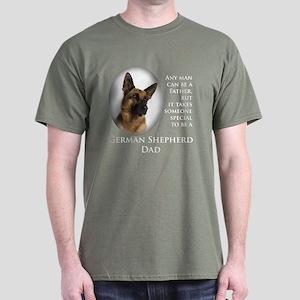 German Shepherd Dad Dark T-Shirt