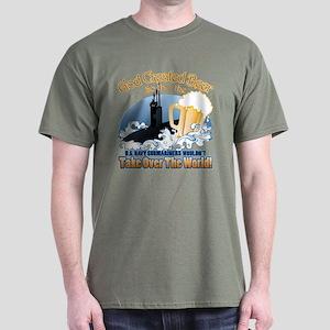 God Created Beer (Submariner) Dark T-Shirt