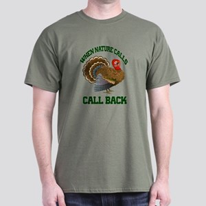Turkey Call Dark T-Shirt